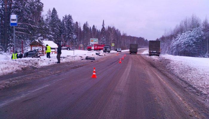 ВКировской области натрассе вДТП умер  51-летний шофёр  ВАЗа
