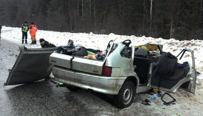ДТП вМурашинском районе: умер мужчина еще двое получили травмы
