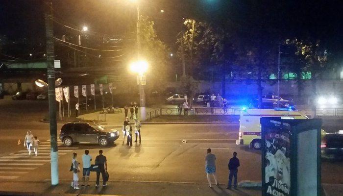 ВКирове таксист сбил пенсионерку на«зебре»