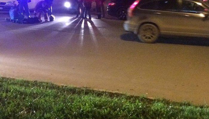 Шофёр на«Porshe» сбил пешехода 16+