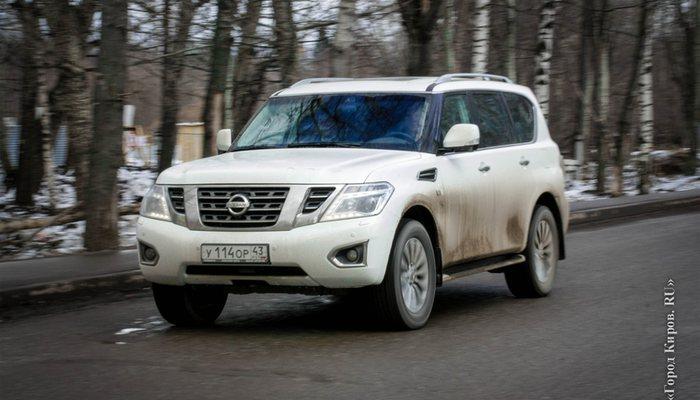 Ниссан убрал вседорожный автомобиль Patrol с русского рынка