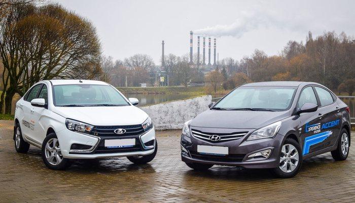 Киа Rio стал самым продаваемым автомобилем следующего года в РФ