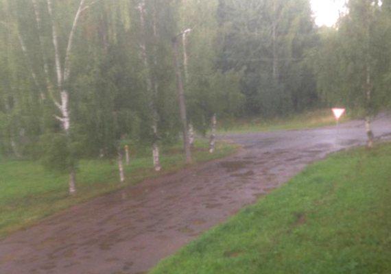 Проблемой ремонта дороги в Победилово займется прокуратура