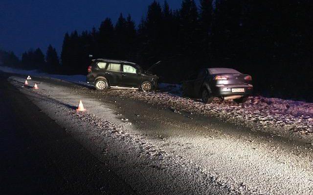 ВДТП вКотельничском районе погибли три пассажира «Мицубиси»